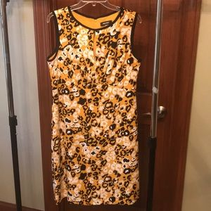Leopard print Nine West dress